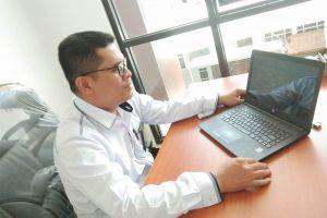 Sekertaris PA Sei Rampah Ikuti Launching Aplikasi E-BIMA