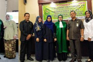 Ketua PA Sei Rampah Hadiri Pelantikan Hakim PA Kisaran
