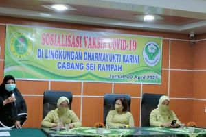 Pertemuan Rutin Dharmayukti Karini (DYK) Cabang Sei Rampah