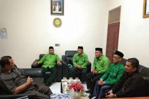 Pengurus Daerah Al-Jam'iyatul Washliyah Kabupaten Serdang Bedagai Audensi ke Ketua Pengadilan Agama Sei Rampah