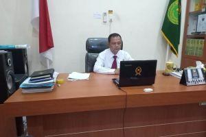 Ketua PA Sei Rampah Hadir Secara Virtual Dalam Acara Serah Terima Jabatan Bupati Sergai Periode 2016-2021