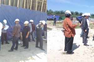 Badan Pemeriksa Keuangan (BPK) RI Meninjau Pembangunan Gedung dan Melakukan Pemeriksaan Atas Laporan Keuangan Tahun 2020 di PA Sei Rampah