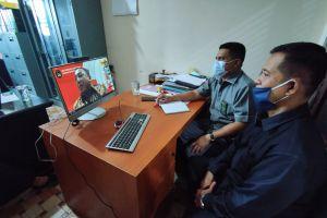 Panitera dan Sekertaris PA Sei Rampah Ikuti Sosialisasi Pakaian Dinas Bagi ASN dan Mekanisme Survei ZI Menuju WBK/WBBM