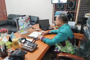 Pegawai PA Sei Rampah Ikuti Pembinaan Kompetensi Tenaga Teknis Peradilan Agama Berbasis Online (Daring)