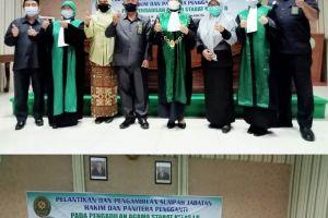 Waka PA Sei Rampah dan Rombongan Hadiri Pelantikan Hakim PA Stabat