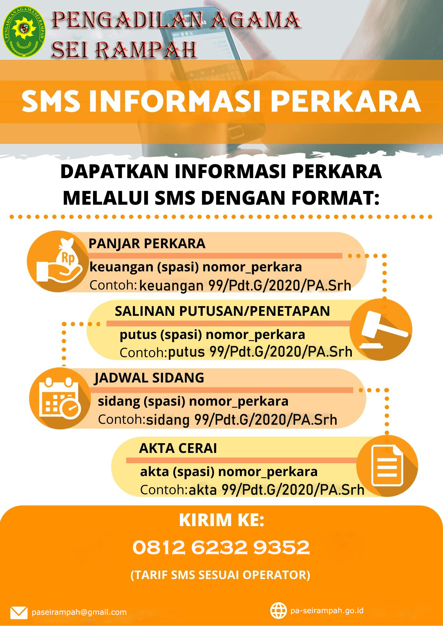 sms seirampah real