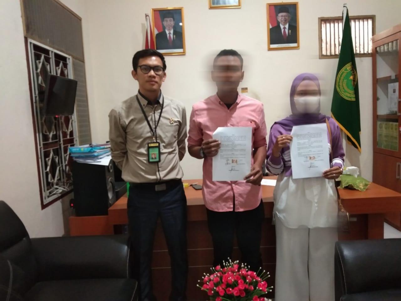Mediasi Perkara Gugatan Dengan Kesepakatan Perdamaian Sebagian di PA Sei Rampah   (23/7)